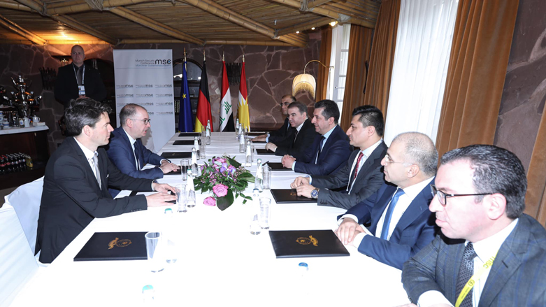Münih | Başbakan Barzani, Niels Annen ile görüştü