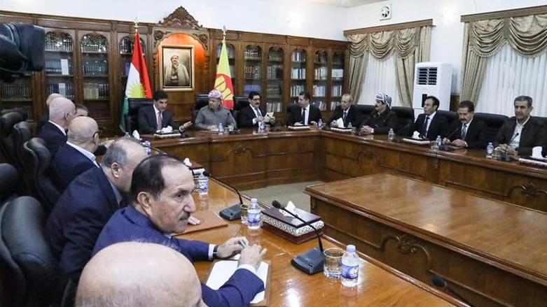 KDP Başkanlık Konseyi'nde Irak kararları ve Reformlar ele alındı