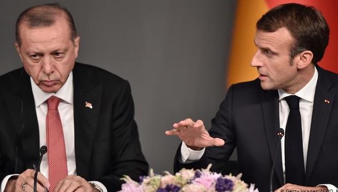 Macron-Erdoğan, 'Suriye, Rojava ve Libya'yı görüştü