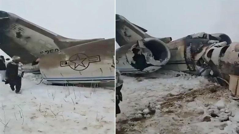 VİDEO | ABD: Afganistan'da düşen uçak, ordumuza ait!