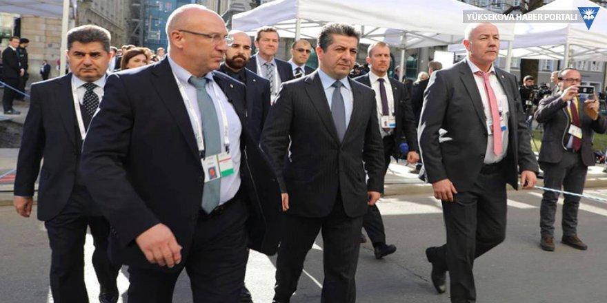 Barzani bugün Çavuşoğlu ve Zarif ile görüşecek