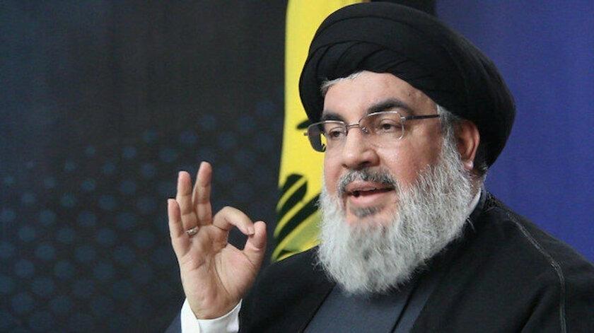 Nasrallah'tan Trump'a Lübnan tepkisi: Lübnan topraklarını hedefliyor