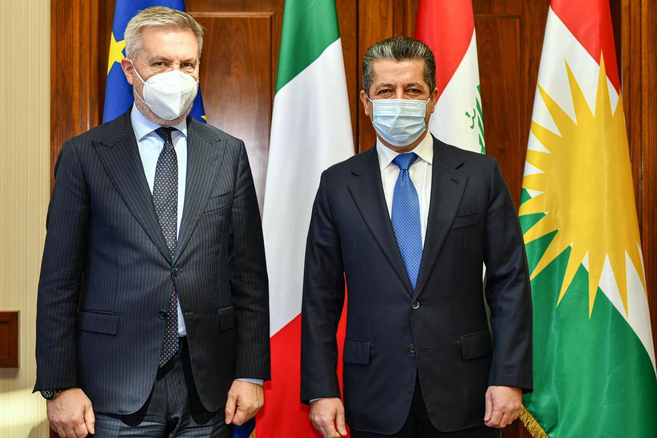 İtalya-Erbil görüşmesinde önemli mesajlar