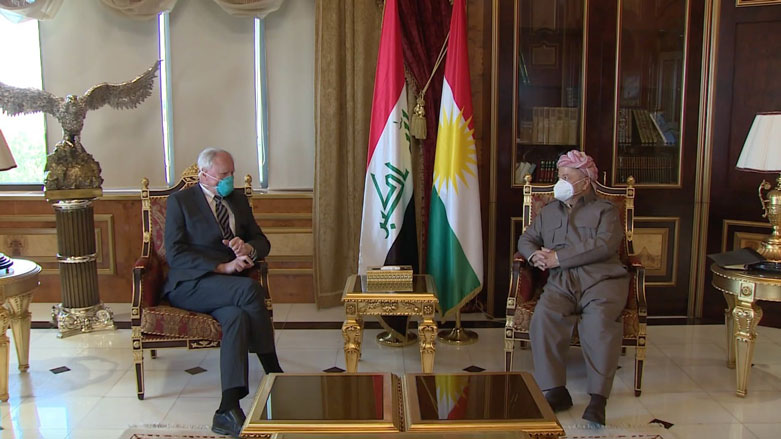 Başkan Barzani ile Jeffrey Suriye ve Kürtlerin geleceğini görüştü
