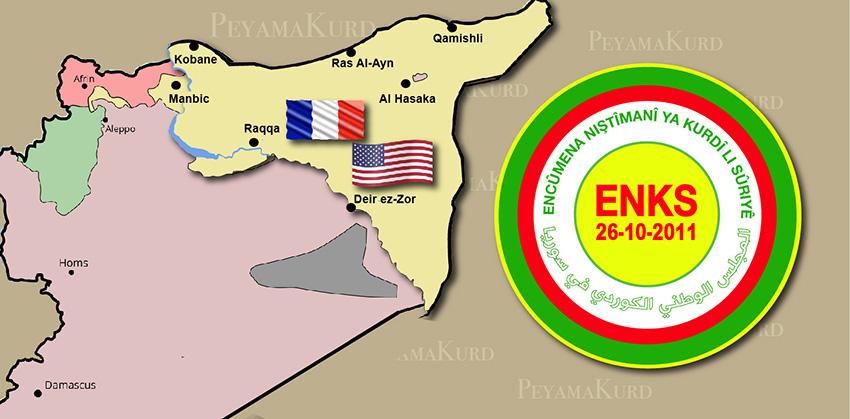 ENKS'den ABD açıklaması: Cepheyi destekliyorlar
