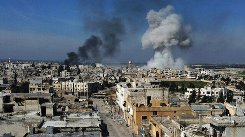 Suriye'de İran milislerine hava saldırısı