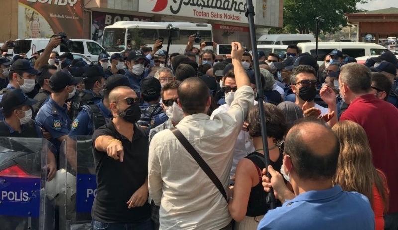 HDP'lilere polis müdahalesi: Ablukaya alındılar