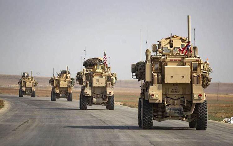 Koalisyona ait dev konvoy Kürdistan Bölgesi'nden Rojava'ya gitti