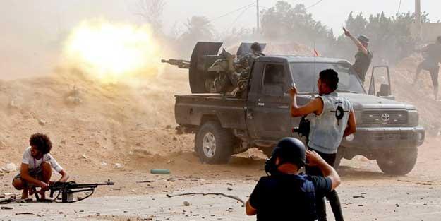 Türkiye'nin Libya'da kalıcı üs kurmak istediği Vatiyye vuruldu