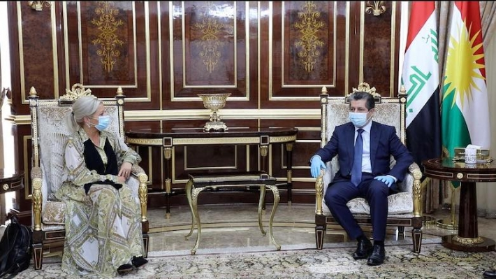 BM kanadından Başbakan Mesrur Barzani'ye: Hazırız