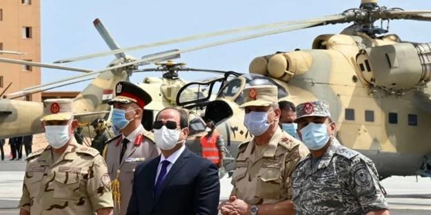 Mısır'dan Türkiye'ye karşı askeri hamle