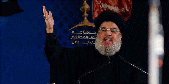 Hizbullah liderinden ABD'ye: Bizi zayıflatamaz!