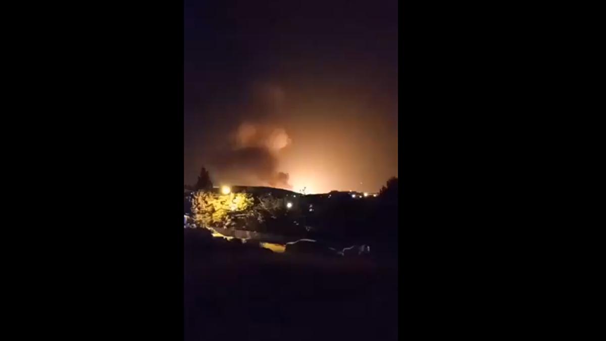 Tahran'da patlama!