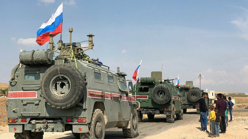 Rojava'da DSG ile Rus güçleri arasında gerginlik