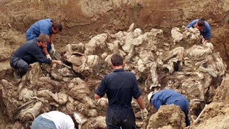 Musul'da toplu mezar tespit edildi!