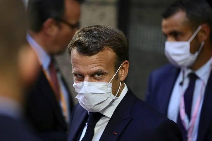 Fransa Cumhurbaşkanı Macron, Bağdat'ta!