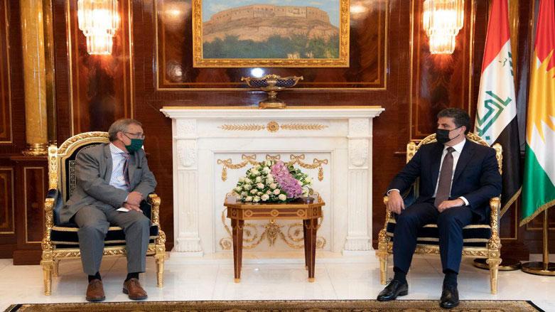 Neçirvan Barzani İspanyol Büyükelçi ile görüştü