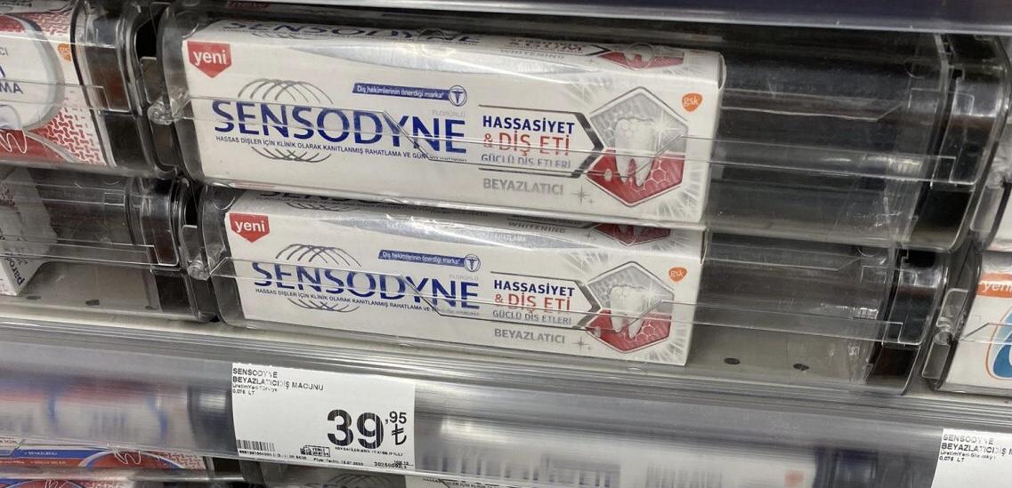 Türkiye | Yüksek enflasyon diş macununa kilit vurdurdu!
