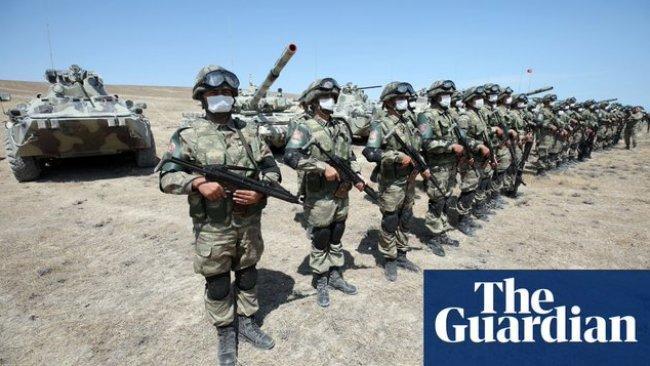 The Guardian: Özel bir Türk şirketi Efrin'de 'Azerbaycan kampı' kurdu