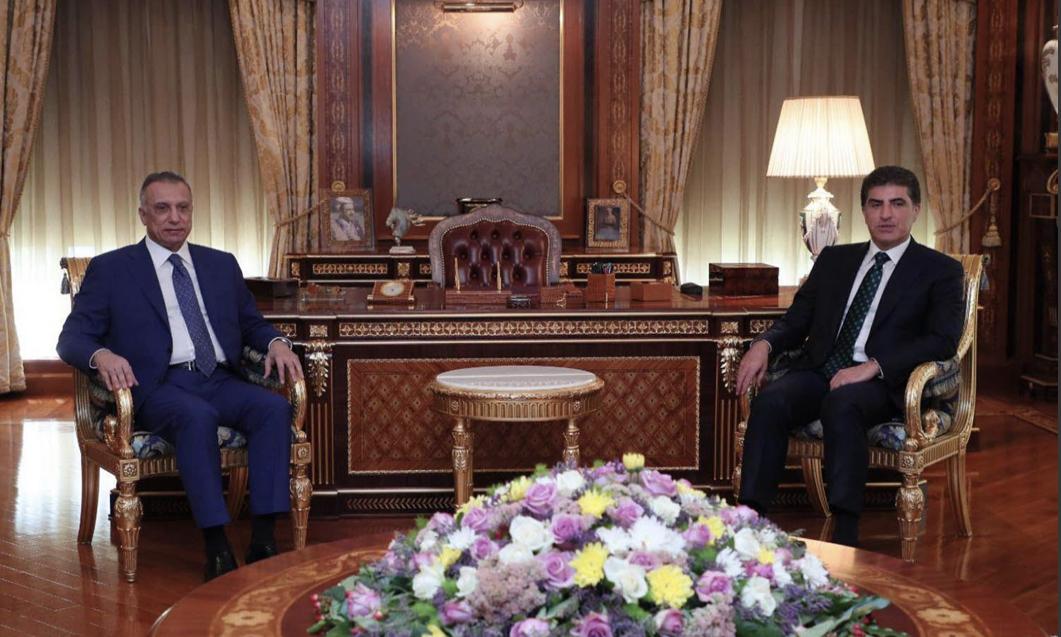 Neçirvan Barzani, Kazimi görüşmesinde ortak vurgu