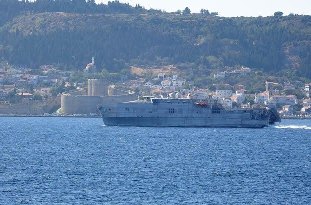 ABD savaş gemisi Akdeniz'e iniyor