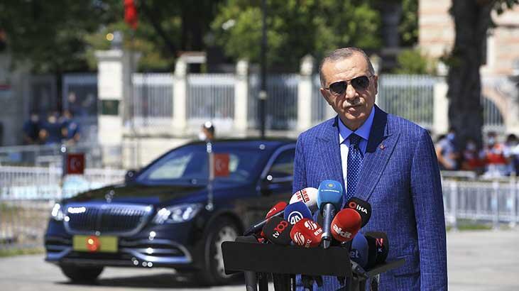 Erdoğan: Türkiye tırmanışta, adeta bir uçuşun içerisinde