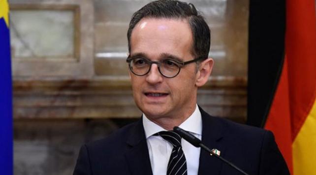 Almanya Dışişleri Bakanı Maas: Tarihi bir anlaşma