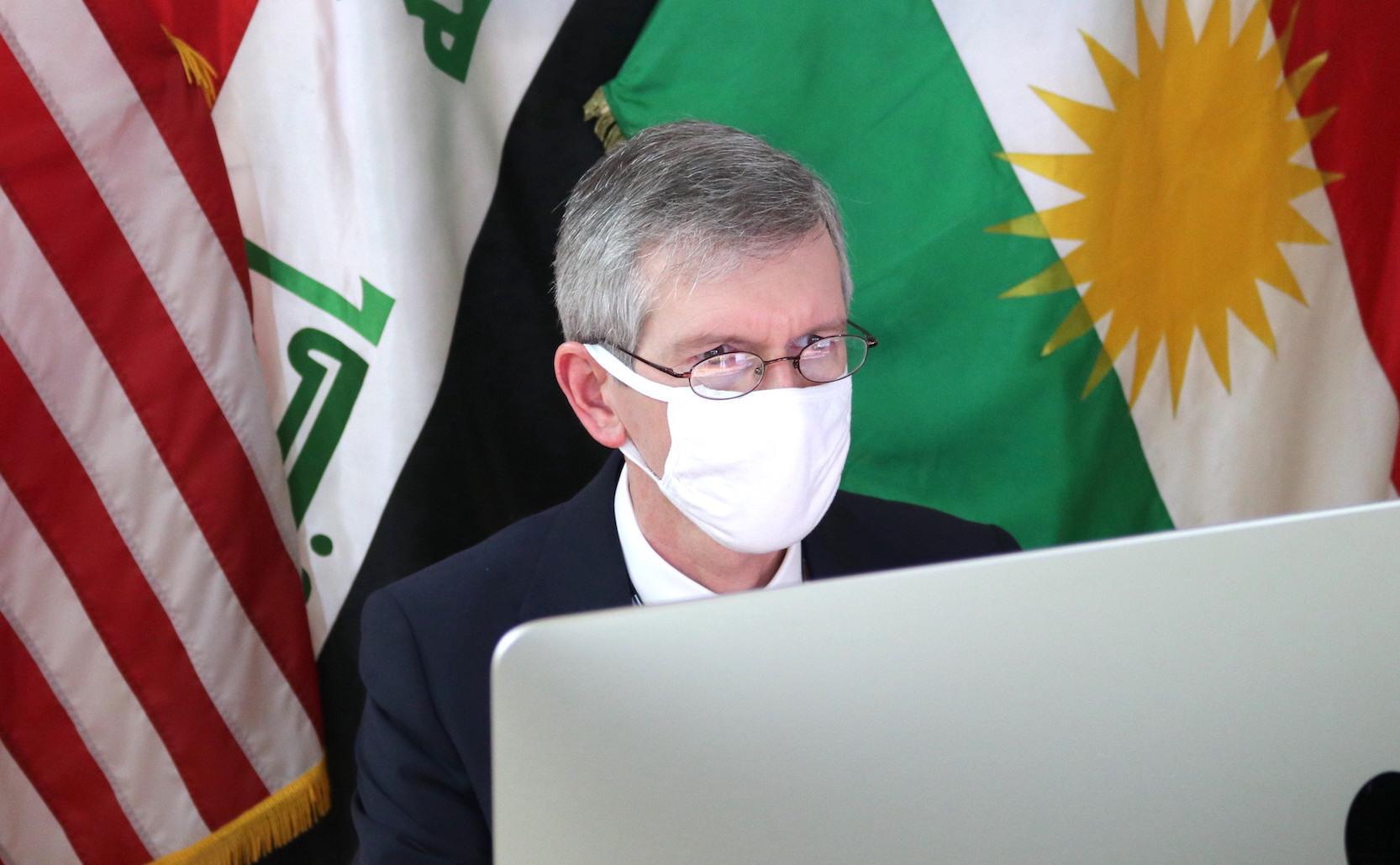 ABD Erbil Başkonsolosu ve Eğitim Bakanı görüştü