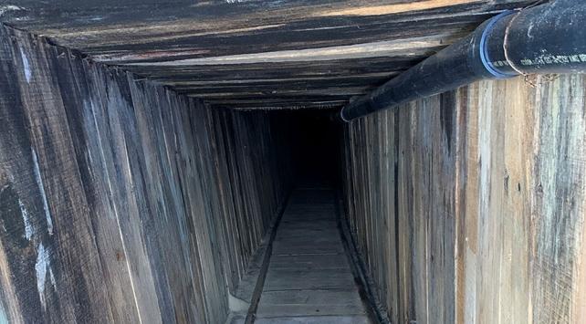Sınırda, ABD tarihindeki en ileri teknolojili tünel bulundu!