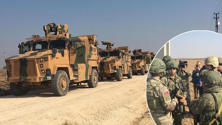 Rojava | Türkiye ve Rusya'dan ortak devriye