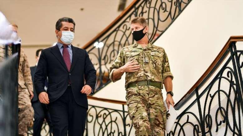 Erbil-Koalisyon görüşmeleri: Peşmerge vurgusu gündemdeydi