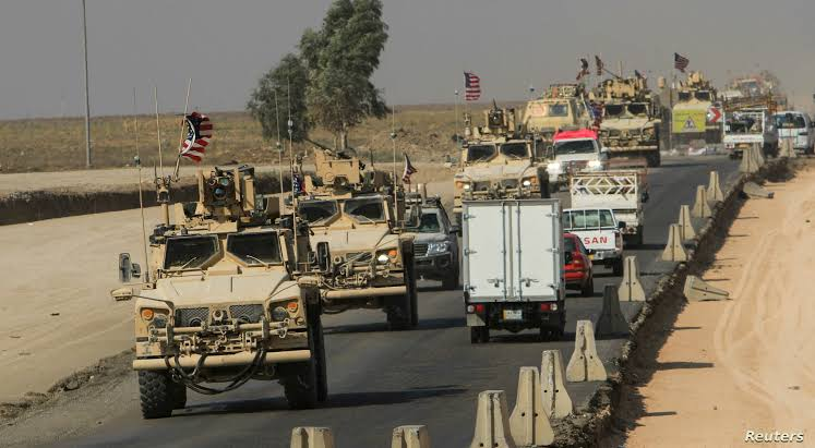 Rojava'da Koalisyon hareketliliği: Tam 35 araç!