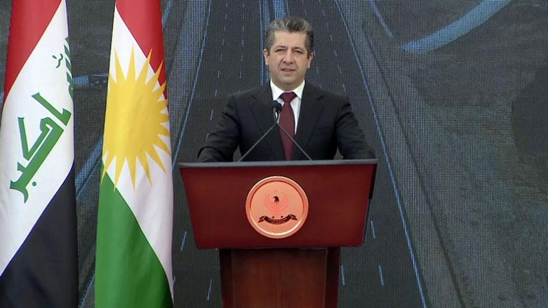 Başbakan Mesrur Barzani: Bu tür projeler devam edecek