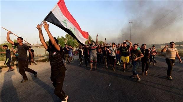 Irak'ta yeniden başlayan protestoların dozu artıyor!