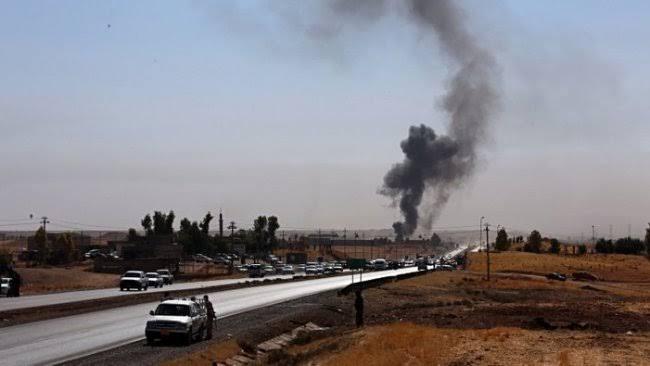Haşdi Şabi'nin silah deposu patladı