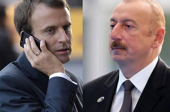 Diplomasi yoğunlaşıyor: Macron ve Aliyev görüştü