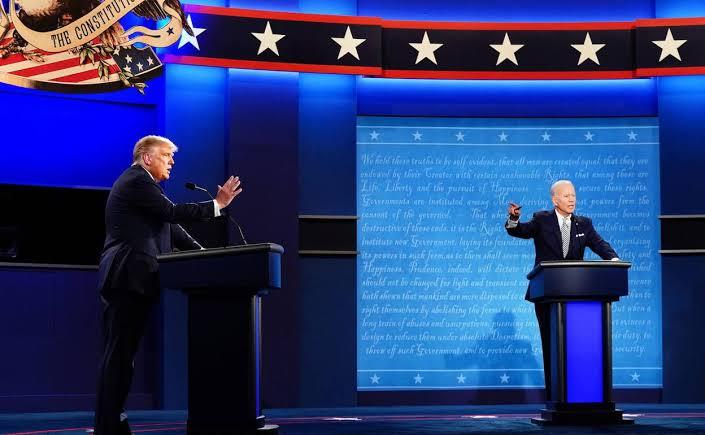Joe Biden ve Donald Trump ikinci defa karşı karşıya geldi