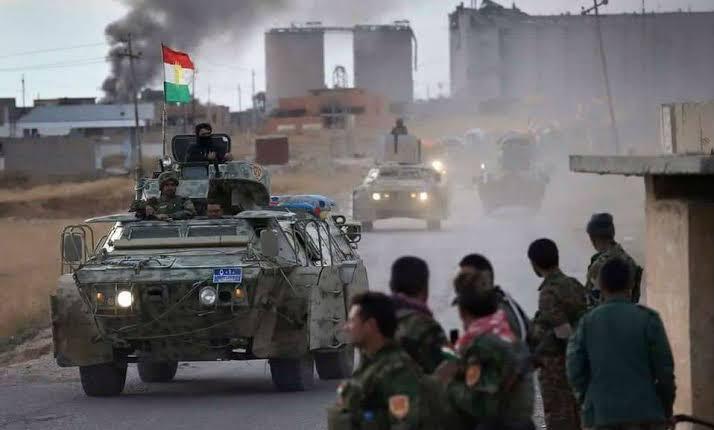 6 hezar Pêşmergeyên Şingalê amade ne ku bi 'Ala Kurdistanê' derbasî bajêr bibin