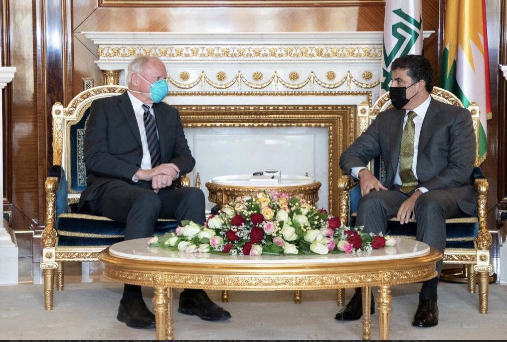 Neçirvan Barzani ve Jeffrey görüşmesi: Rojava da masadaydı