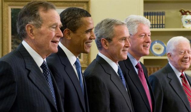 Eski ABD başkanları kameralar önünde Kovid-19 aşısı olacak
