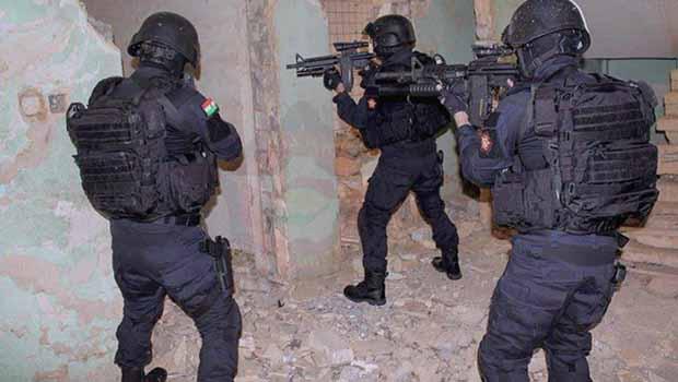 Mahmur: Irak Anti Terör Birimi'nden IŞİD'e operasyon