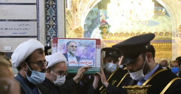 Muhsin Fahrizade için İran'da cenaze töreni düzenlendi