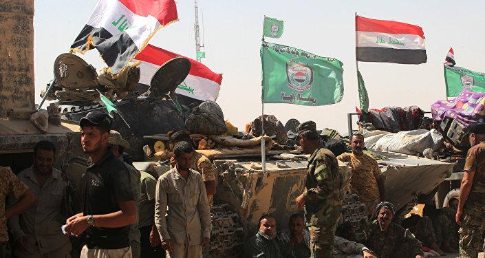 Irak ordusu Haşdi Şabi'den 5 kontrol noktasını devraldı