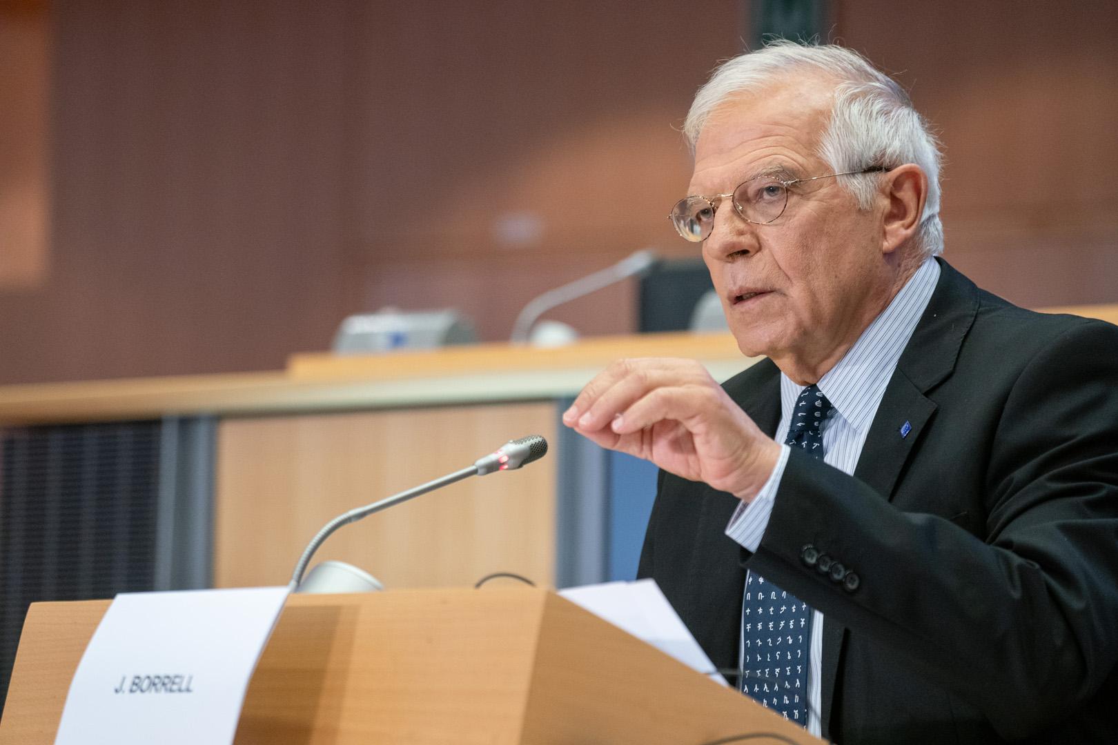 Borell: Rusya ve Türkiye AB'yi çözüm süreçlerinin dışına itiyor