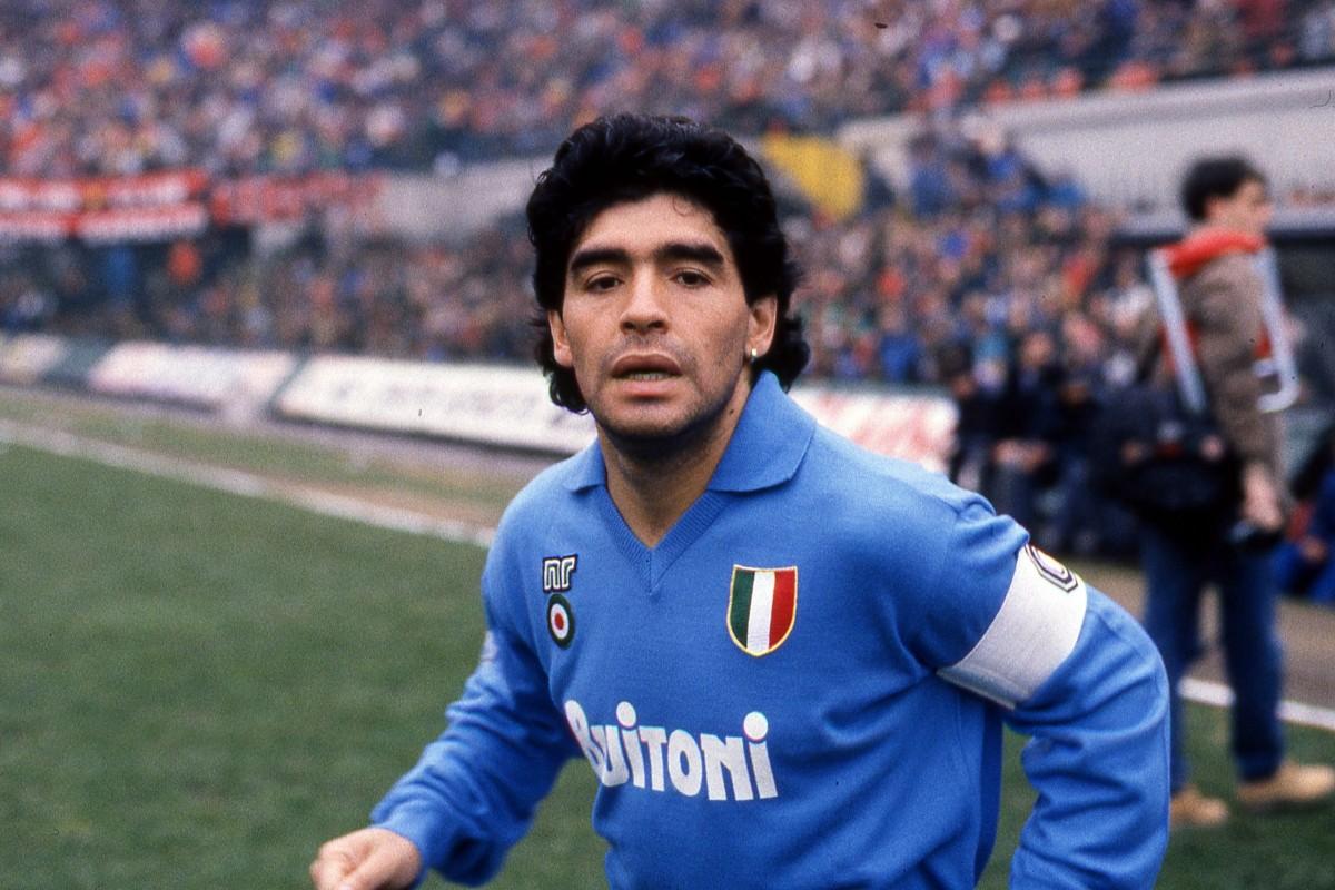 """Napoli stadının adı """"Diego Armando Maradona"""" olarak değiştirildi"""