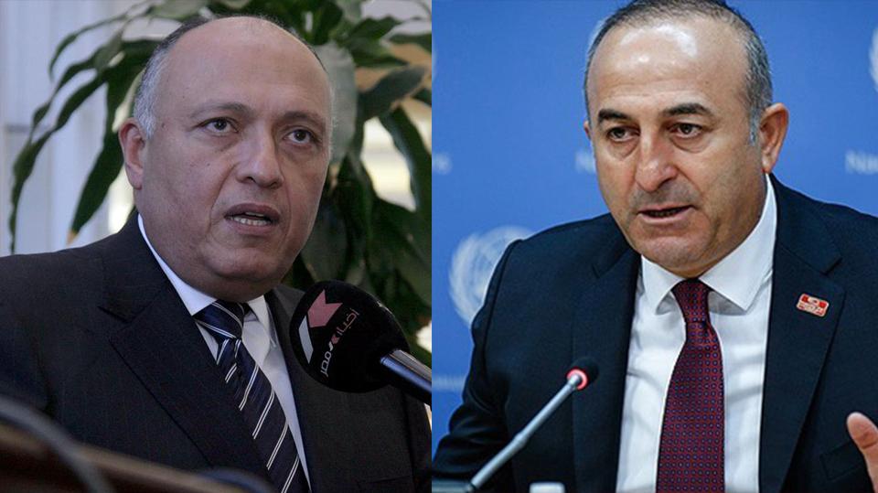 Çavuşoğlu, Mısır Dışişleri Bakanı ile görüştü!