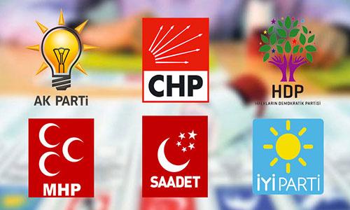 Üye sayısı verileri güncellendi: AKP ve HDP'nin üye sayısı arttı!