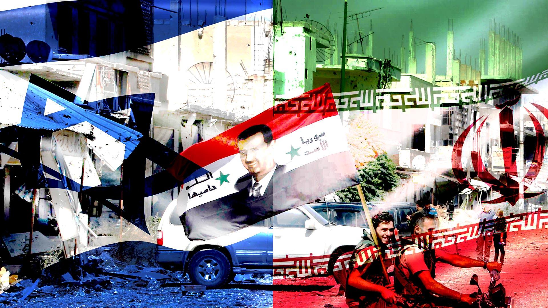 """""""Tel Aviv ve Şam, İranlı milislerin Suriye'den çıkması için toplantı düzenledi"""""""