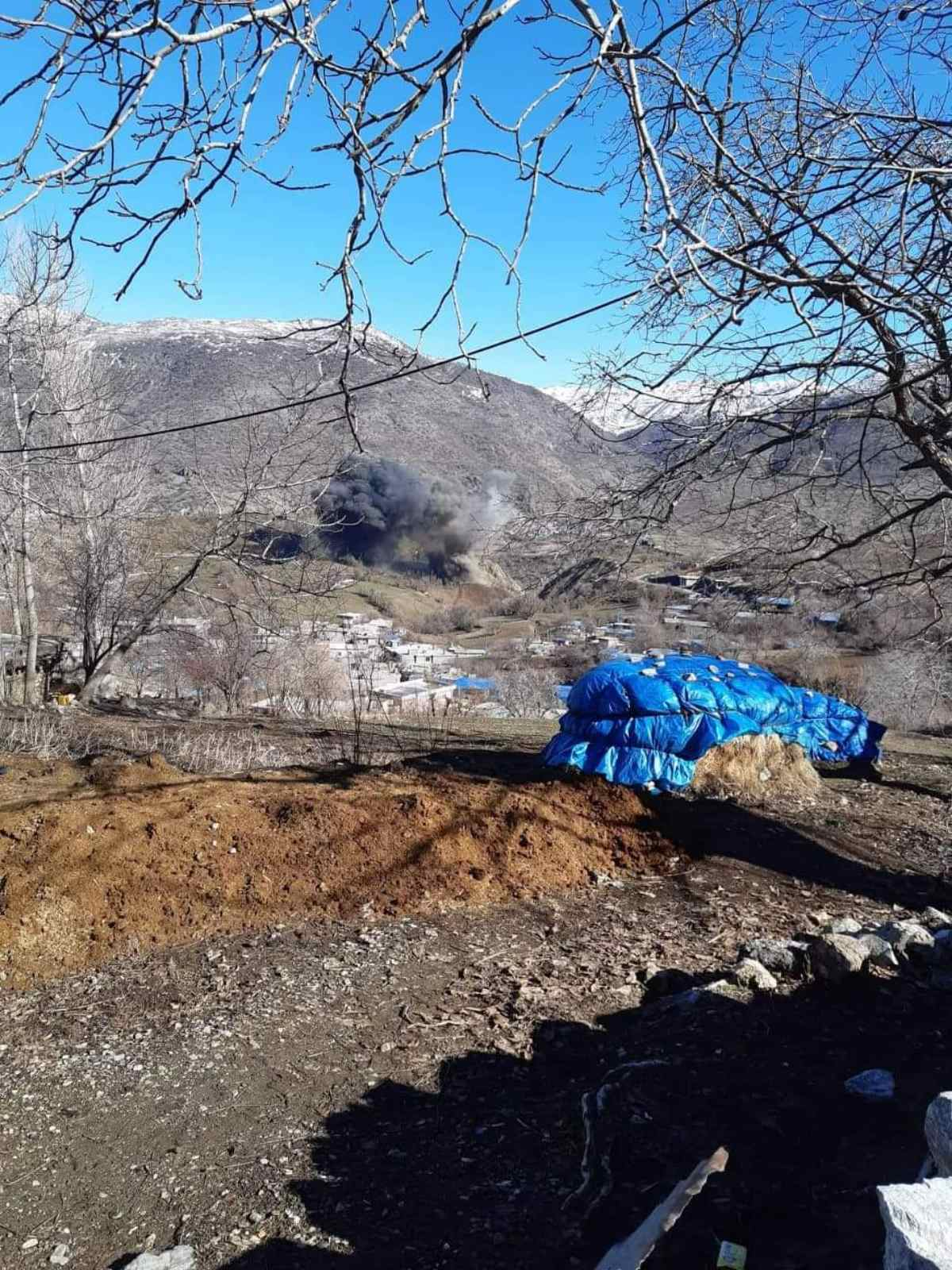 TSK'ya bağlı savaş uçaklarından Pişder bölgesine bombardıman!