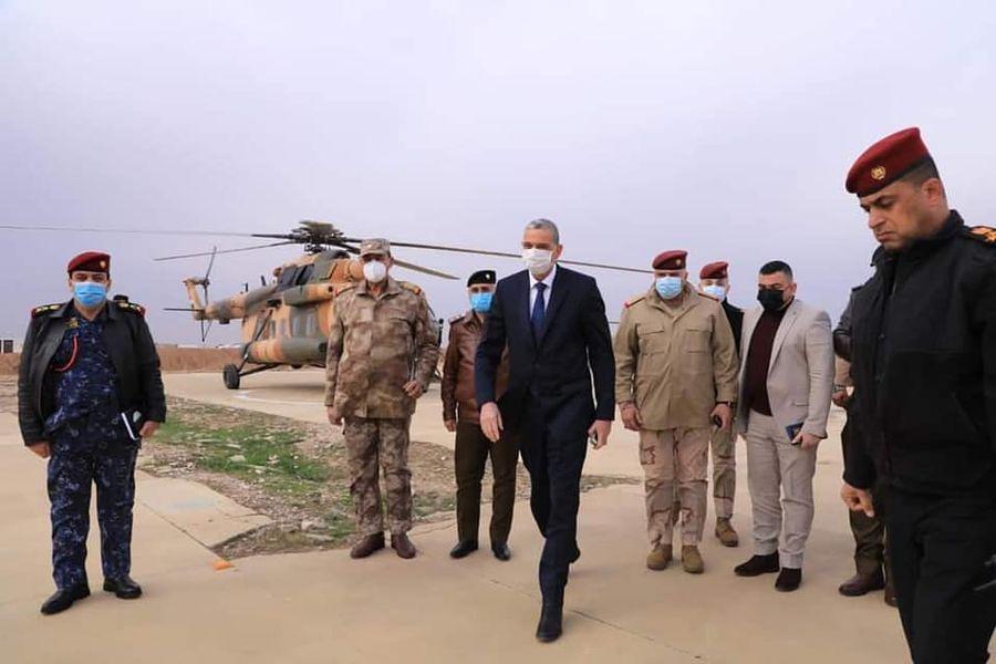 Irak İçişleri Bakanı'ndan Şengal'e ziyaret!